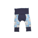 Hipster Bear Leggings - NEWBORN