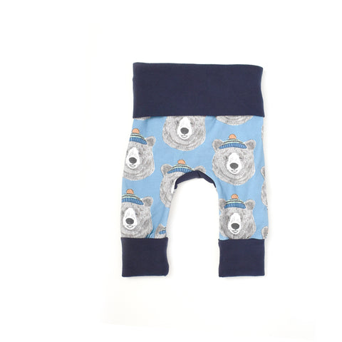 Hipster Bear Leggings - TODDLER