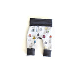 Ski Bum winter hat grow with me baby leggings by Bear & Bunny Co.