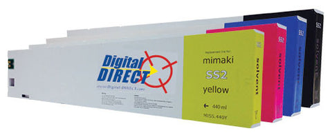 Mimaki SS2 Inks - Mild Solvent (440ml) - Compatible
