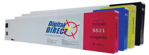 Mimaki SS21 Inks - Mild Solvent (440ml) - Compatible