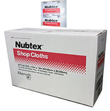 "Nubtex Shop Cloths #313 - 13"" x 13"" (375 ct, 25 wipes/pk - 15 pks/case)"