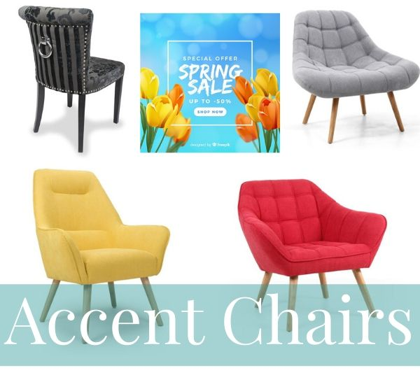 Spring Sale Accent Chairs