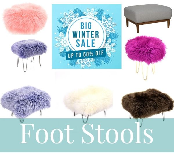 Big Winter Sale Footstools