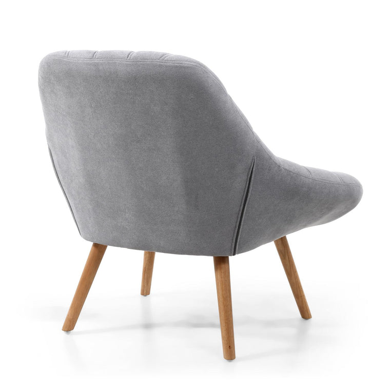 Hawksmoor Shell Light Grey Armchair
