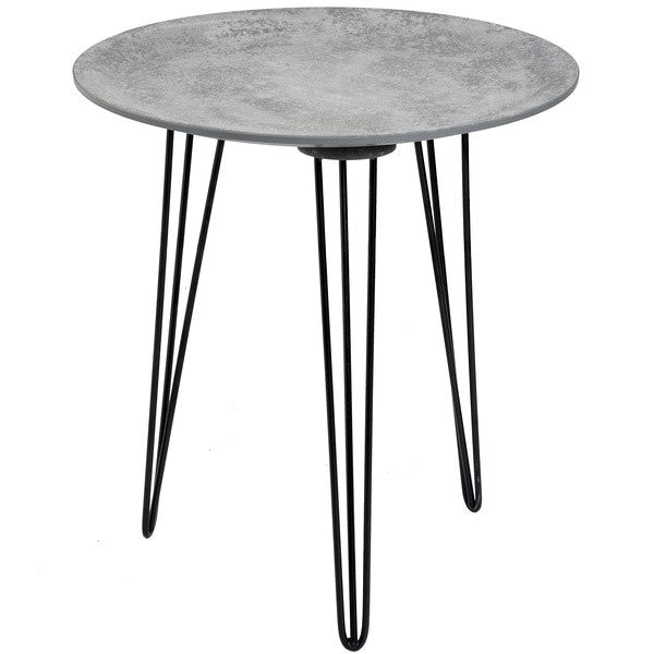 Gillmore Space Concrete Topped Side Table