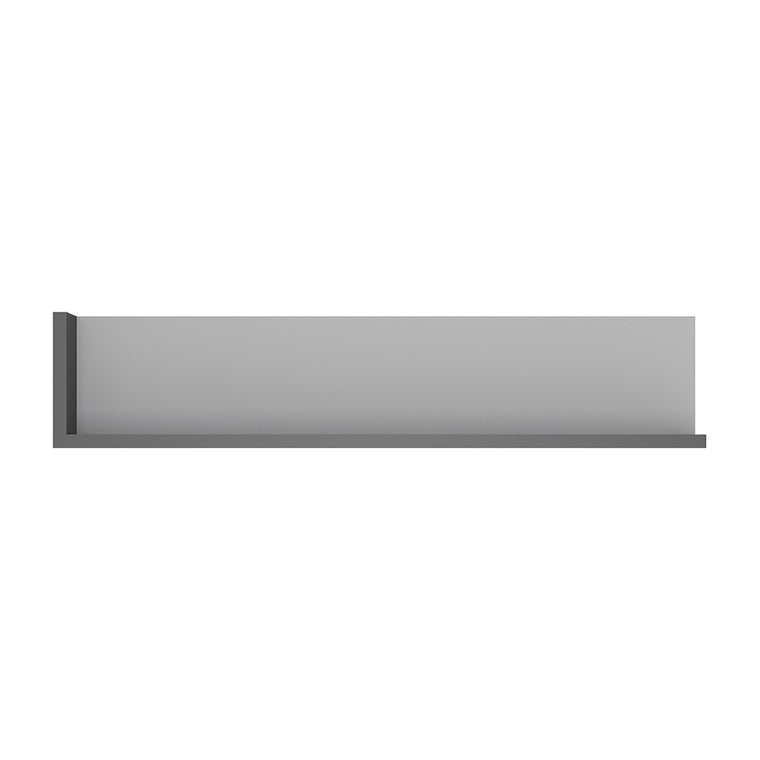 Axton Woodlawn 120cm Wall Shelf In Platinum/Light Grey