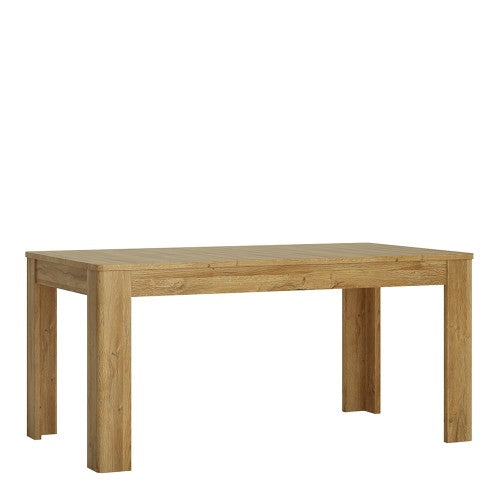 Axton Bronxwood Extending Dining Table In Grandson Oak