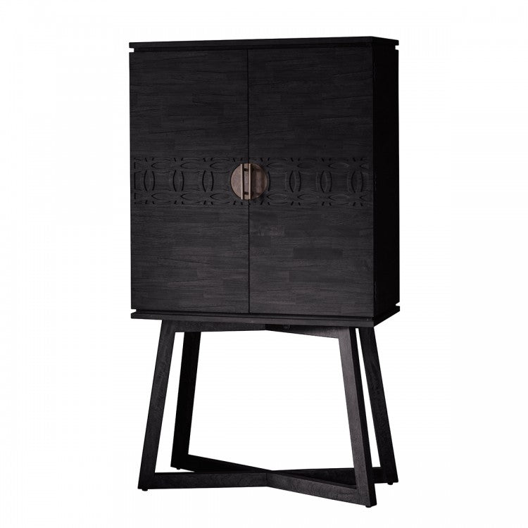 Hudson Living Boho Boutique Cocktail Cabinet