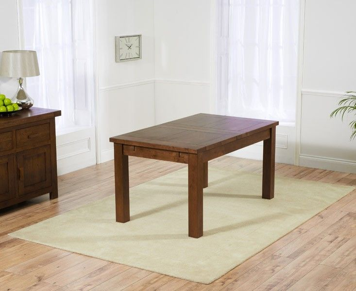 Mark Harris Rustique Dark 150cm Extending Dining Table
