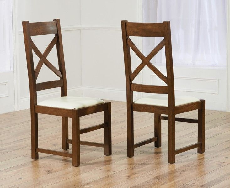 Mark Harris Canterbury Dark Cream Chairs (Pairs)