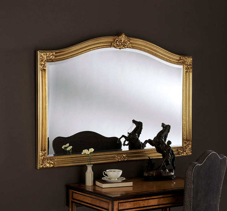 Yearn Over Mantles ART255 Gold  Mirror