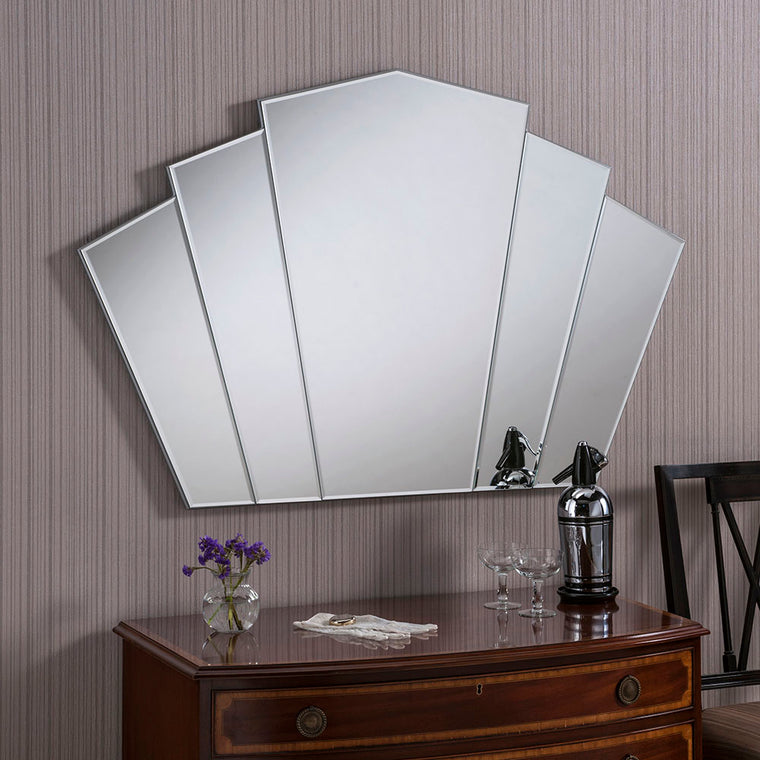 Yearn Art Deco ART39 Bevelled Mirror
