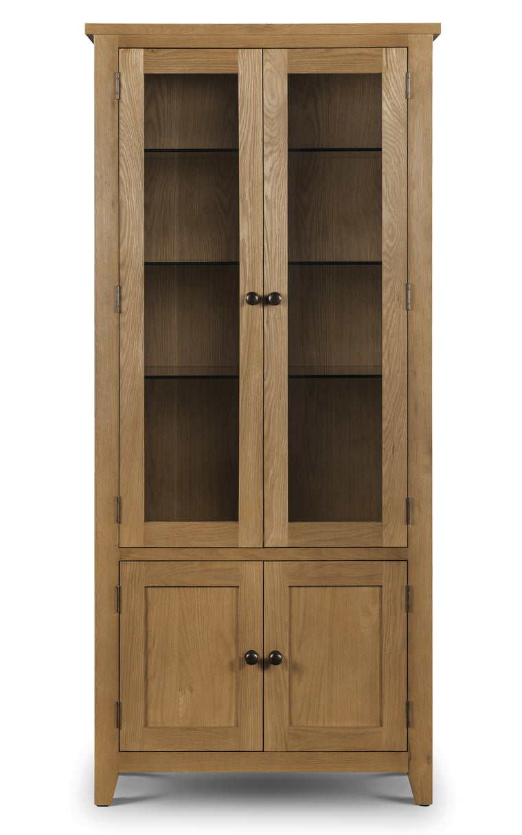 Julian Bowan Astoria Glaze Display Cabinet