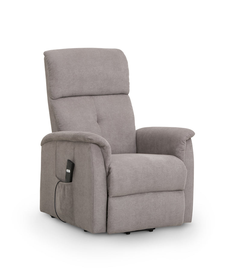 Julian Bowen Ava Rise & Recline Chair Grey