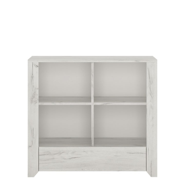 Axton Baychester 1 Drawer Low Bookcase