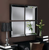 Yearn Art Deco Byblos 4 Panel Black Mirror