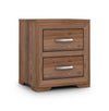 Julian Bowen Buckingham 2 Drawer Side Table