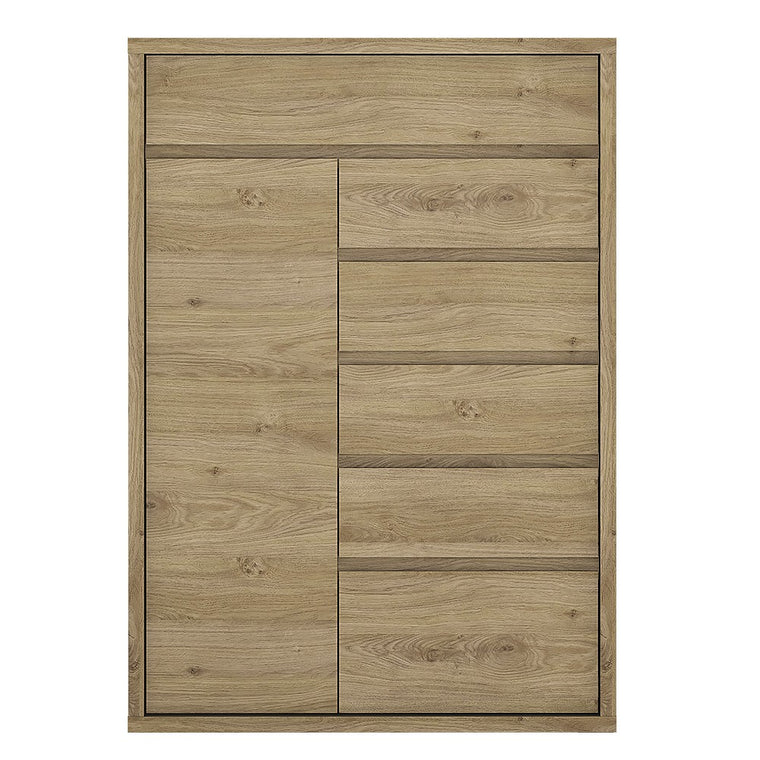 Axton Kingsbridge 1 Door 6 Drawer Cupboard