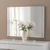 Yearn Contemporary Classic Rectangle Silver Mirror