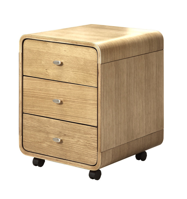 Jual Furnishings Helsinki 3 Drawer Pedestal Oak