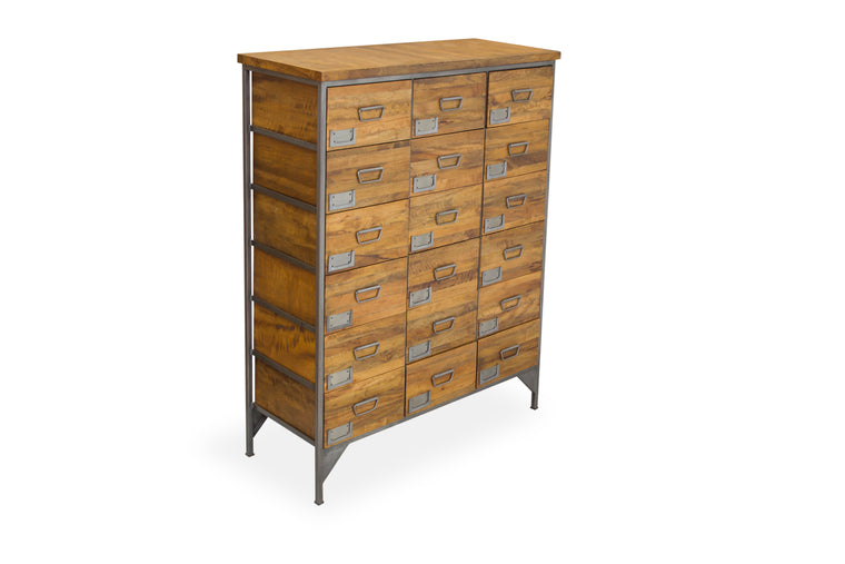 Bodiam Pendennis 18 Drawer Apothecary Chest