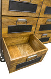 Bodiam Pendennis 9Drawer Apothecary Chest