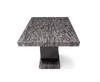 Rivilino 200cm Dark Grey Marble Dining Table