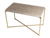 Gillmore Space Iris Rectangle Side Table Weathered Oak Top