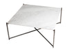Gillmore Space Iris Square Coffee Table White Marble Top