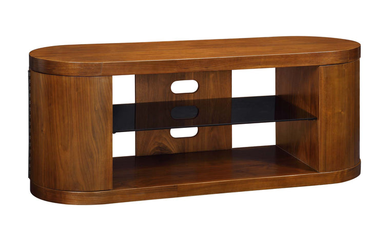Jual Furnishings Florence Walnut Storage TV Stand