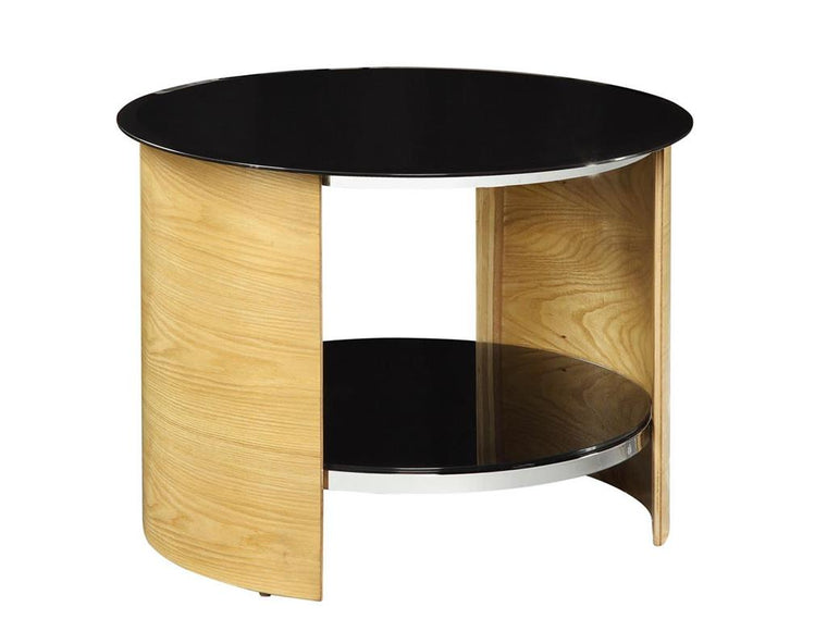 Jual Furnishings San Marino Oak Round Lamp Table