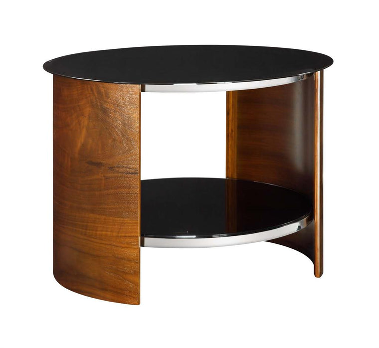 Jual Furnishings San Marino Walnut Round Lamp Table