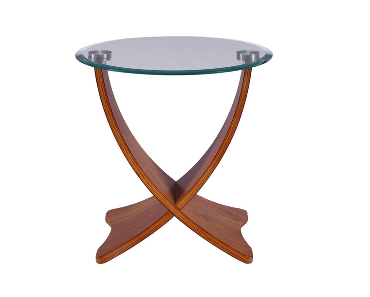 Jual Furnishings Siena Lamp Table Walnut