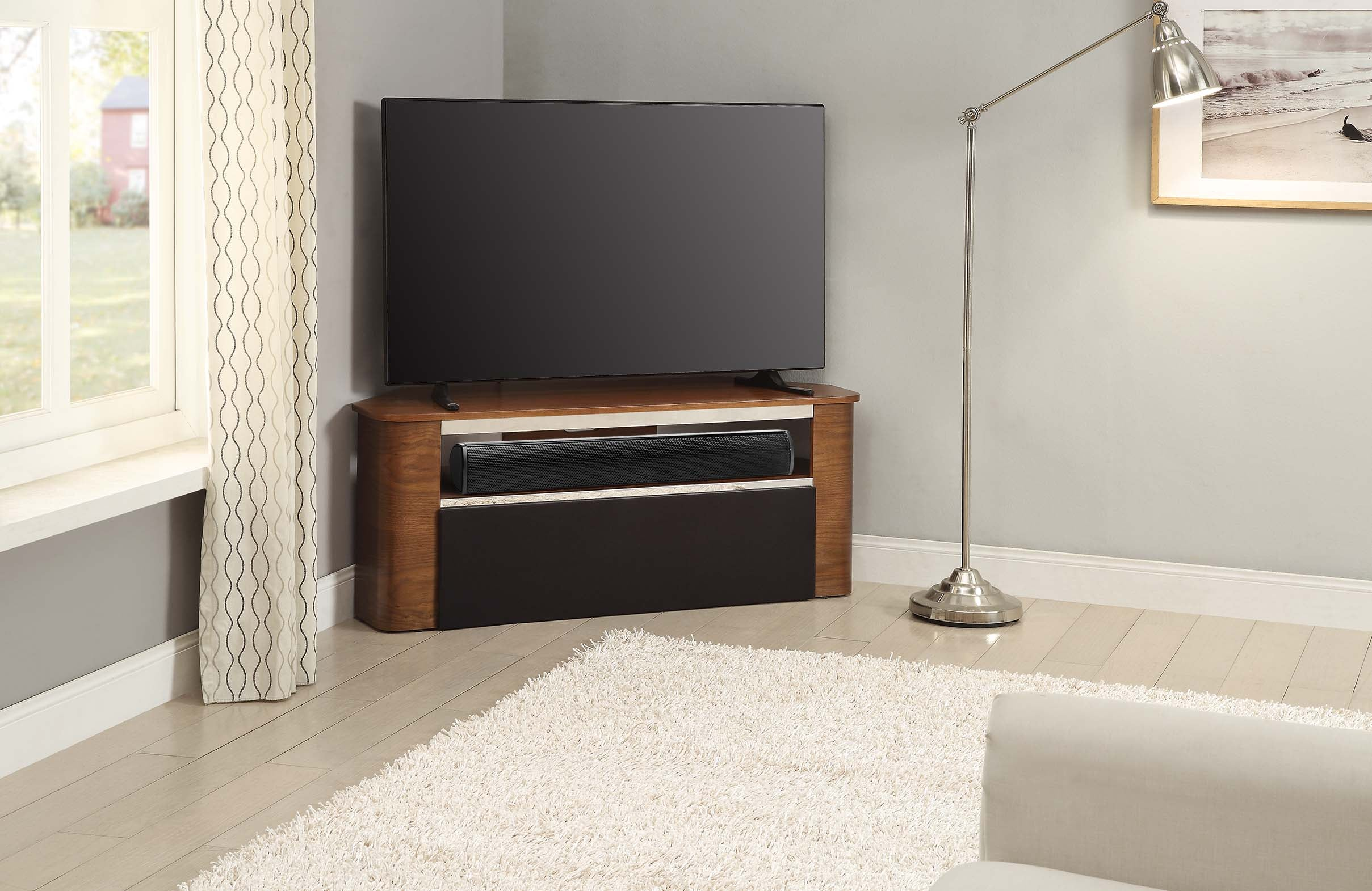 Jual Furnishings Havana Acoustic Tv Stand Loungeliving Co Uk