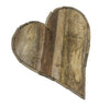 Bodiam Raby Driftwood Heart Medium Wall Deco