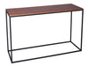 Gillmore Space Kensall Console Table Walnut Black