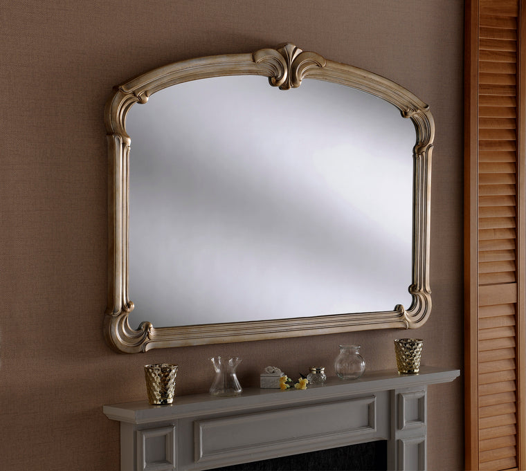 Yearn Over Mantles M316 Silver Mirror