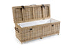 Rowico Maya Rattan Storage Bench with Cushion