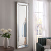 Yearn Contemporary Monaco Silver Mirror