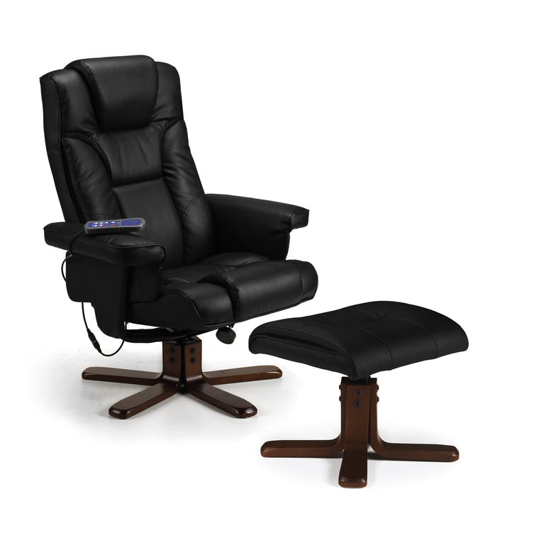 Julian Bowen Malmo Massage Recliner & Stool
