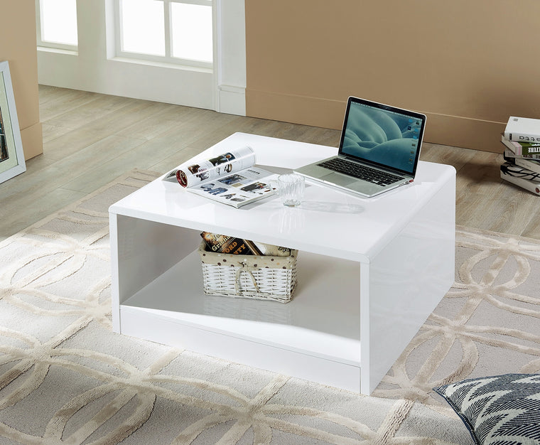 Julian Bowen Manhattan High Gloss Square Coffee Table