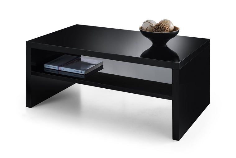 Julian Bowen Metro High Gloss Coffee Table Black