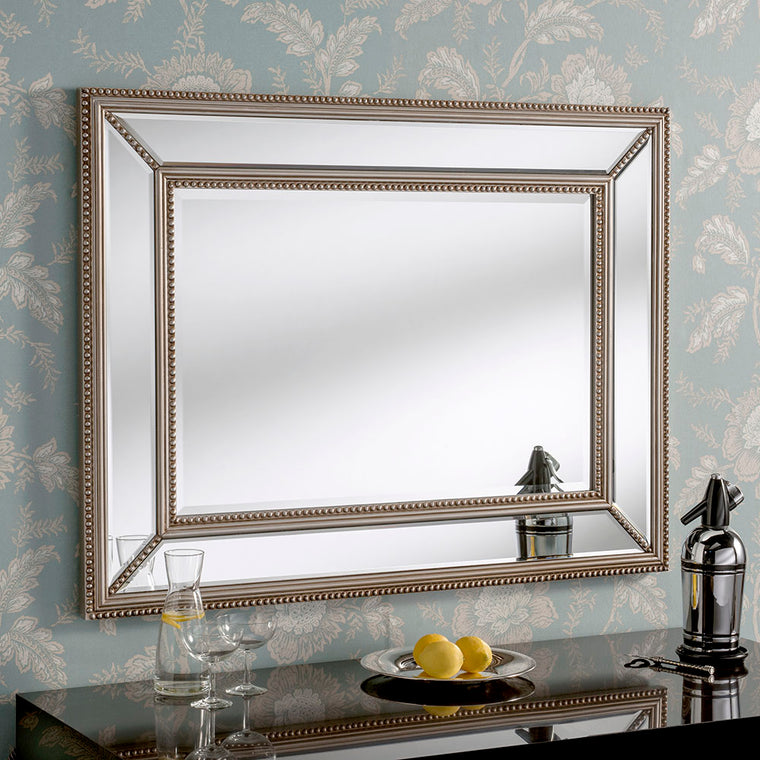 Yearn Contemporary Paris Silver Mirror