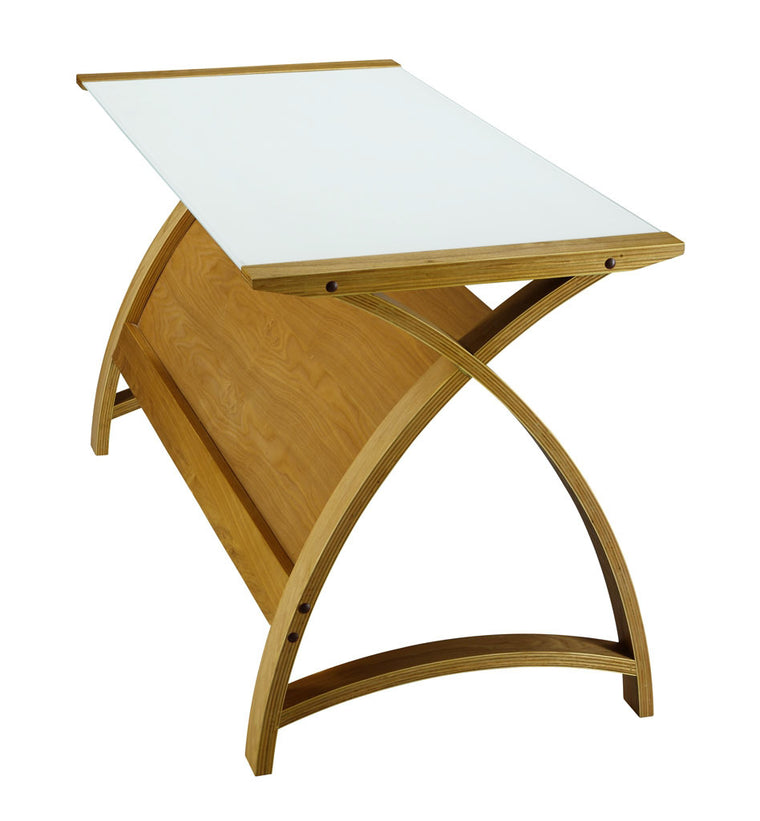 Jual Furnishings Helsinki Laptop Table 1300 Oak Desk