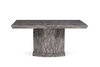 Mark Harris Como 200cm Grey Marble Dining Table