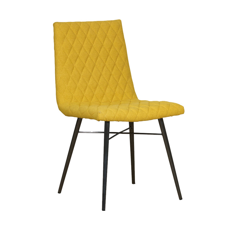 Mark Webster Soho Quilted Back Dining Chair (Pair)