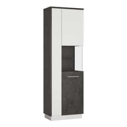 Axton Laconia Tall Display Cabinet (RH)