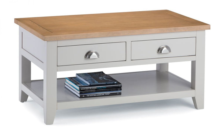 Julian Bowen Richmond 2-Tone Oak Coffee Table