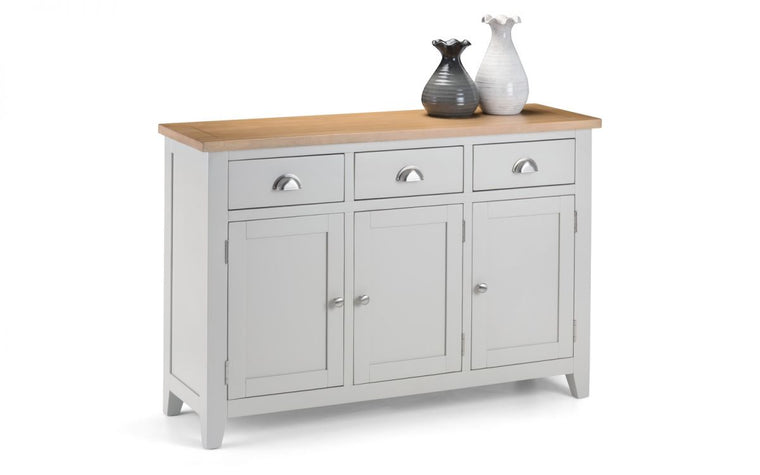 Julian Bowen Richmond 2-Tone Oak Sideboard